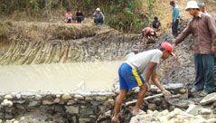 Diversion based irrigation